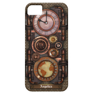 Steampunk Vintage Timepiece 1C iPhone 5 Covers