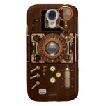 Steampunk Vintage TLR Camera Galaxy S4 Covers