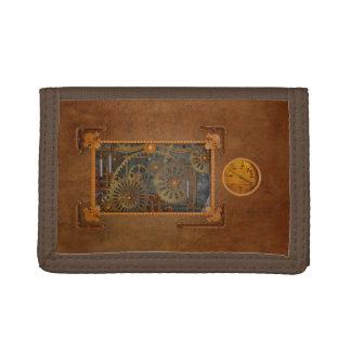 Steampunk Trifold Wallet