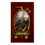 STEAMPUNK - War - We are ready Business Cards
