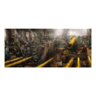 STEAMPUNK - War - We are ready Rack Card