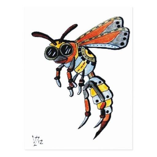 Steampunk Wasp.jpg Postales