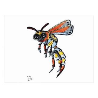 Steampunk Wasp.jpg Postcard