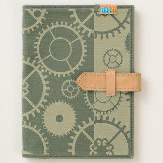 Steampunk watch gears journal