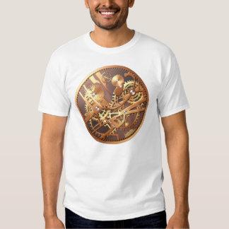 steampunk watch gears t-shirt