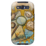 Steampunk Watches and Clocks Design Samsung Galaxy S3 Covers