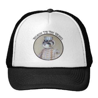 Steampunk Weasel Hat