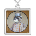 Steampunk Weasel Necklace