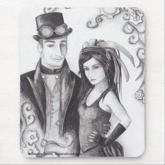 Steampunk Wedding - Mousepad