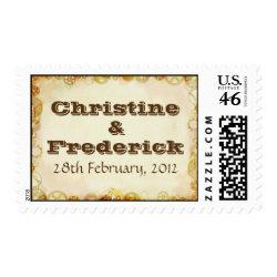 Steampunk Wedding, souvenir stamp