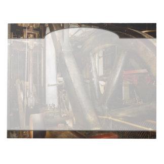 Steampunk - Wheels of progress Notepad