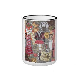 Steampunk Whimsy II Paper Doll Art Mug