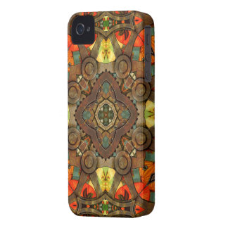 Steampunk Window iPhone 4 Covers