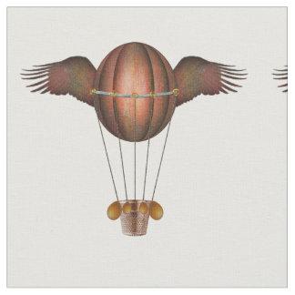 Steampunk Winged Balloon Fabric