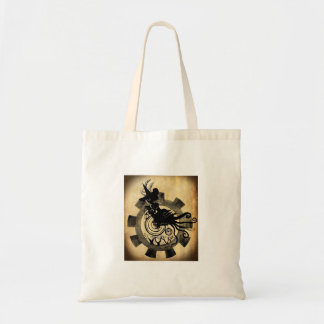 Steampunk Witch Tote Bag