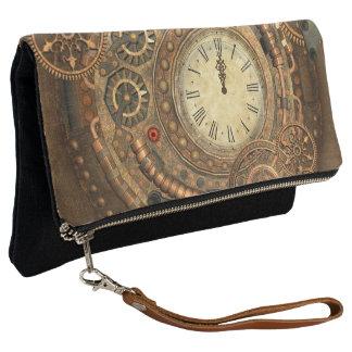 Steampunk, wonderful clockwork clutch