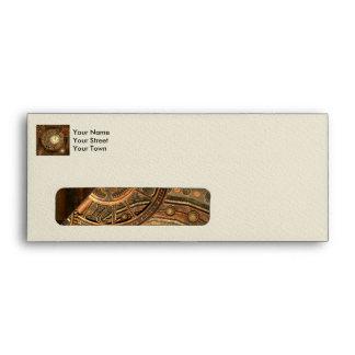 Steampunk, wonderful clockwork envelope