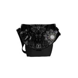 Steampunk, wonderful heart messenger bag