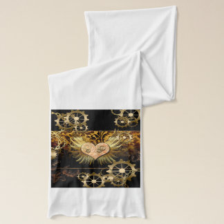 Steampunk, wonderful heart scarf