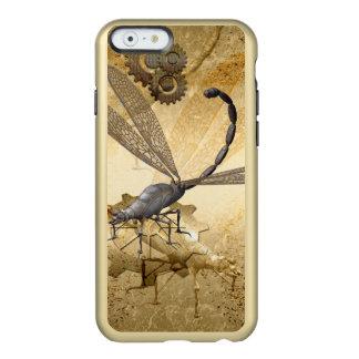 Steampunk, wonderful  steam dragonflies incipio feather shine iPhone 6 case