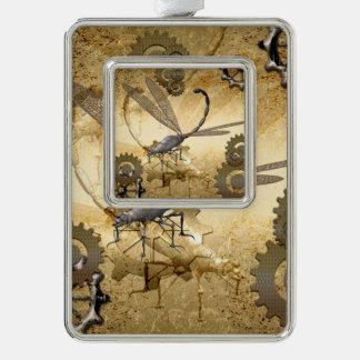 Steampunk, wonderful  steam dragonflies ornament