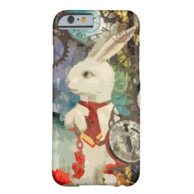 Steampunk Wonderland White Rabbit Barely There iPhone 6 Case