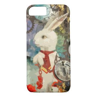Steampunk Wonderland White Rabbit iPhone 8/7 Case