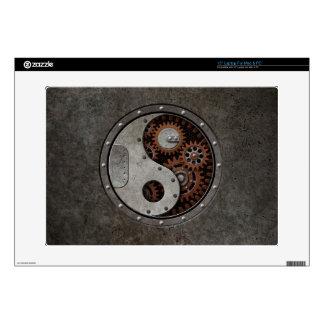 "Steampunk Yin Yang 15"" Laptop Skin"
