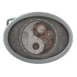 Steampunk Yin Yang Belt Buckles