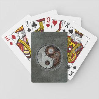Steampunk Yin Yang Card Decks