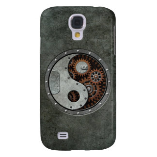 Steampunk Yin Yang Funda Para Galaxy S4