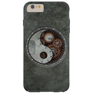 Steampunk Yin Yang Funda Para iPhone 6 Plus Tough