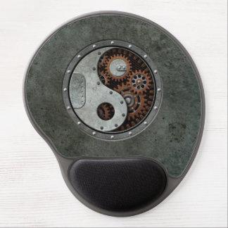 Steampunk Yin Yang Gel Mouse Pads