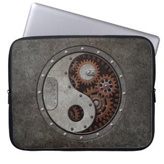 Steampunk Yin Yang Laptop Computer Sleeves