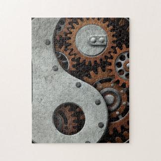 Steampunk Yin Yang Rompecabezas