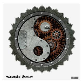 Steampunk Yin Yang Wall Skins