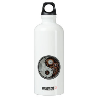 Steampunk Yin Yang Water Bottle