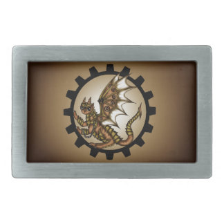 Steampunkdragon Belt Buckle