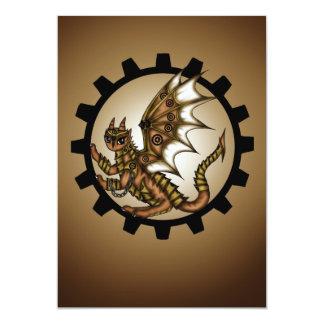 Steampunkdragon Card