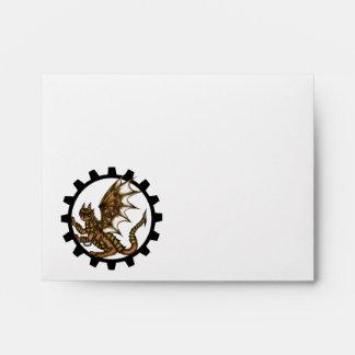 Steampunkdragon Envelopes