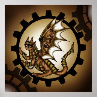 Steampunkdragon Poster