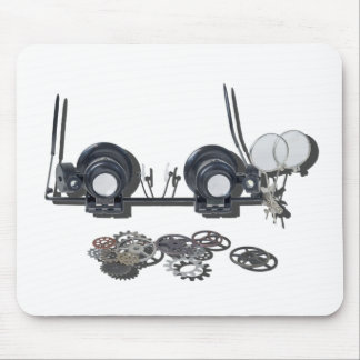 SteampunkGlassesGears031415 Mouse Pad