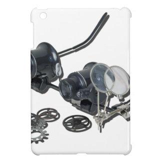 SteamPunkGlassesSideGears031415 iPad Mini Covers