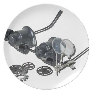 SteamPunkGlassesSideGears031415 Plate