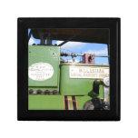 Steamroller del vintage caja de joyas