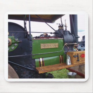 Steamroller Thistledown Mouse Pad