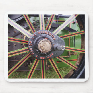 Steamroller Wheel Mouse Pad