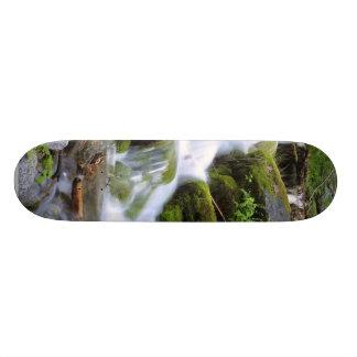 Steams Brooks Water Moss Leaves Forests Skateboard Decks