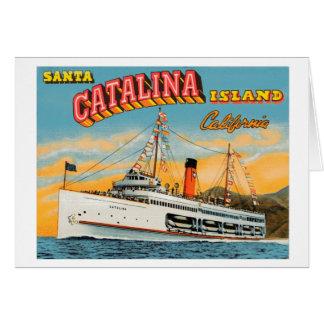 Steamship Catalina Note Card