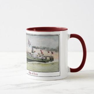 Steamship City Of Erie Mug
